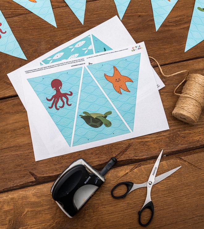 Meerjungfrau-Kindergeburtstag-Wimpelkette-Shop-2