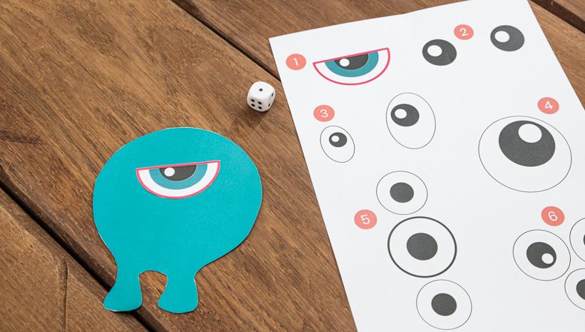 Monster Kindergeburtstag Spiel Anleitung Basteln