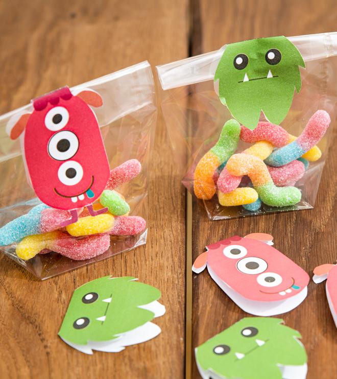 Monster Kindergeburtstag Suessigkeiten Vorlage Basteln Mitgebsel Shop (1)