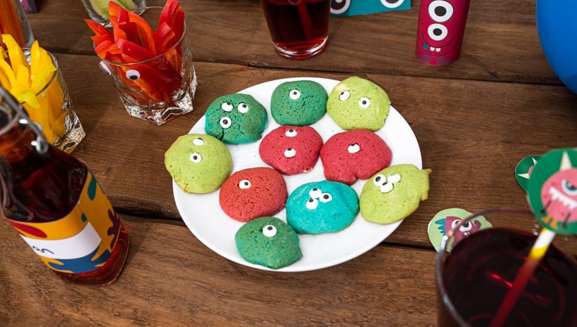 Monster Kindergeburtstag Tischdeko