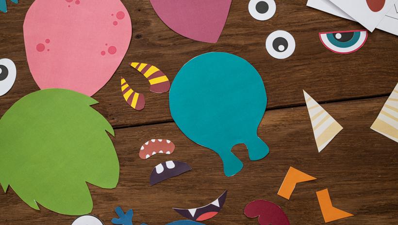Monster Kindergeburtstag Wuerfelspiel Monster Würfeln