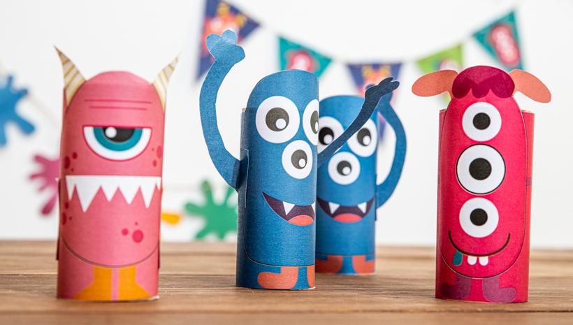 Monster Kindergeburtstag coole Idee