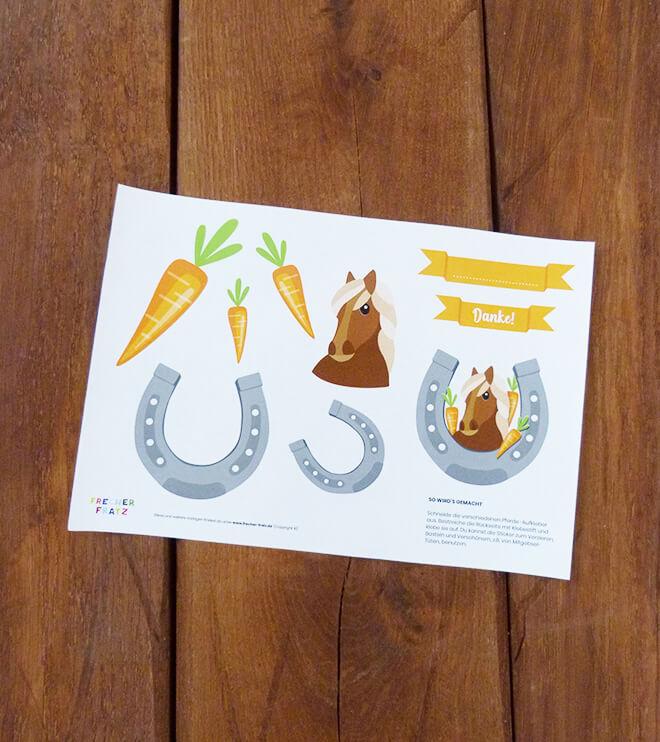 Einladung kindergeburtstag zum ausdrucken kostenlos pferd