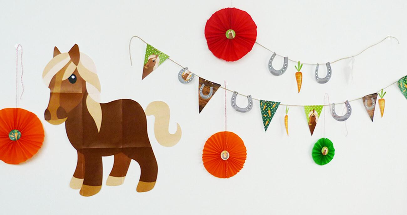 Pferde-Geburtstag-Spiele