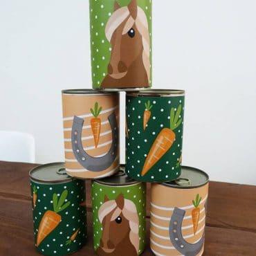Pferde-Kindergeburtstag-Dosenbanderole_Shop01