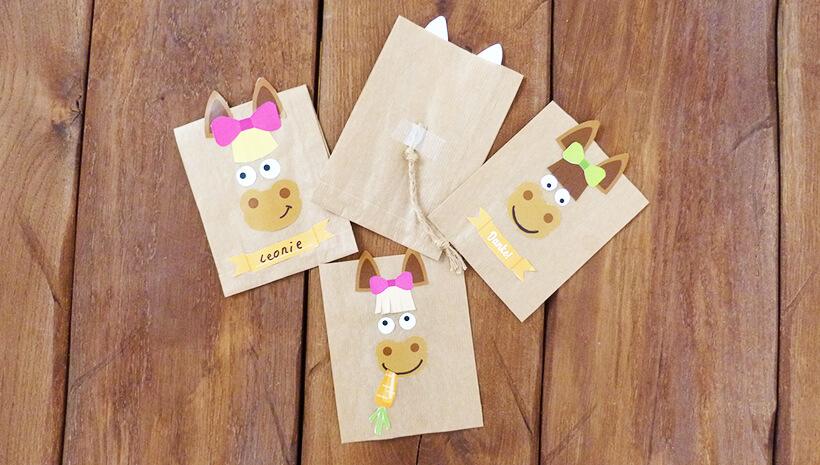 Pferde-Kindergeburtstag-Mitgebseltueten