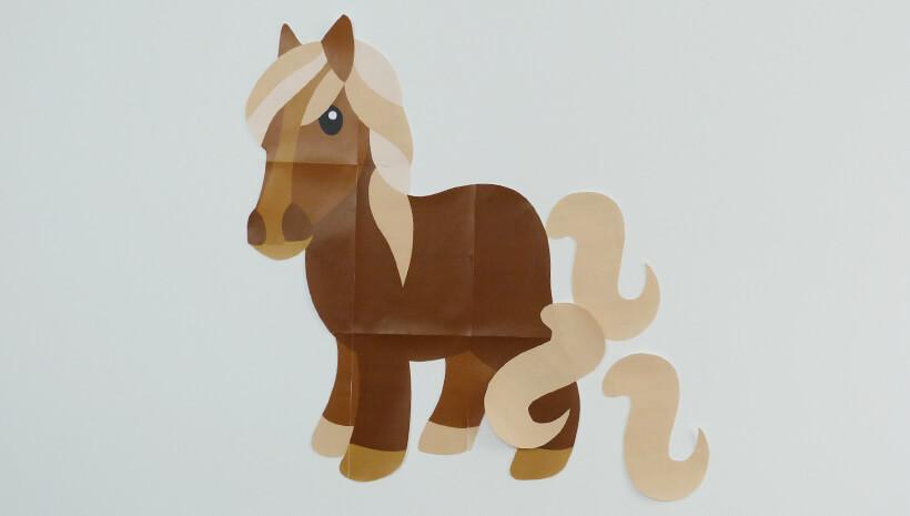 Pferde-Kindergeburtstag-Spiel