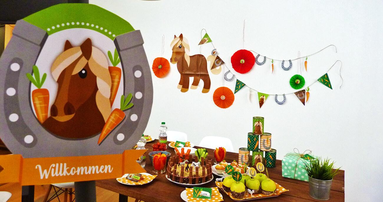 Pferde-Kindergeburtstag-Titelbild