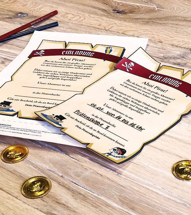 Piraten-Geburtstag-Einladung-Schatzkarte