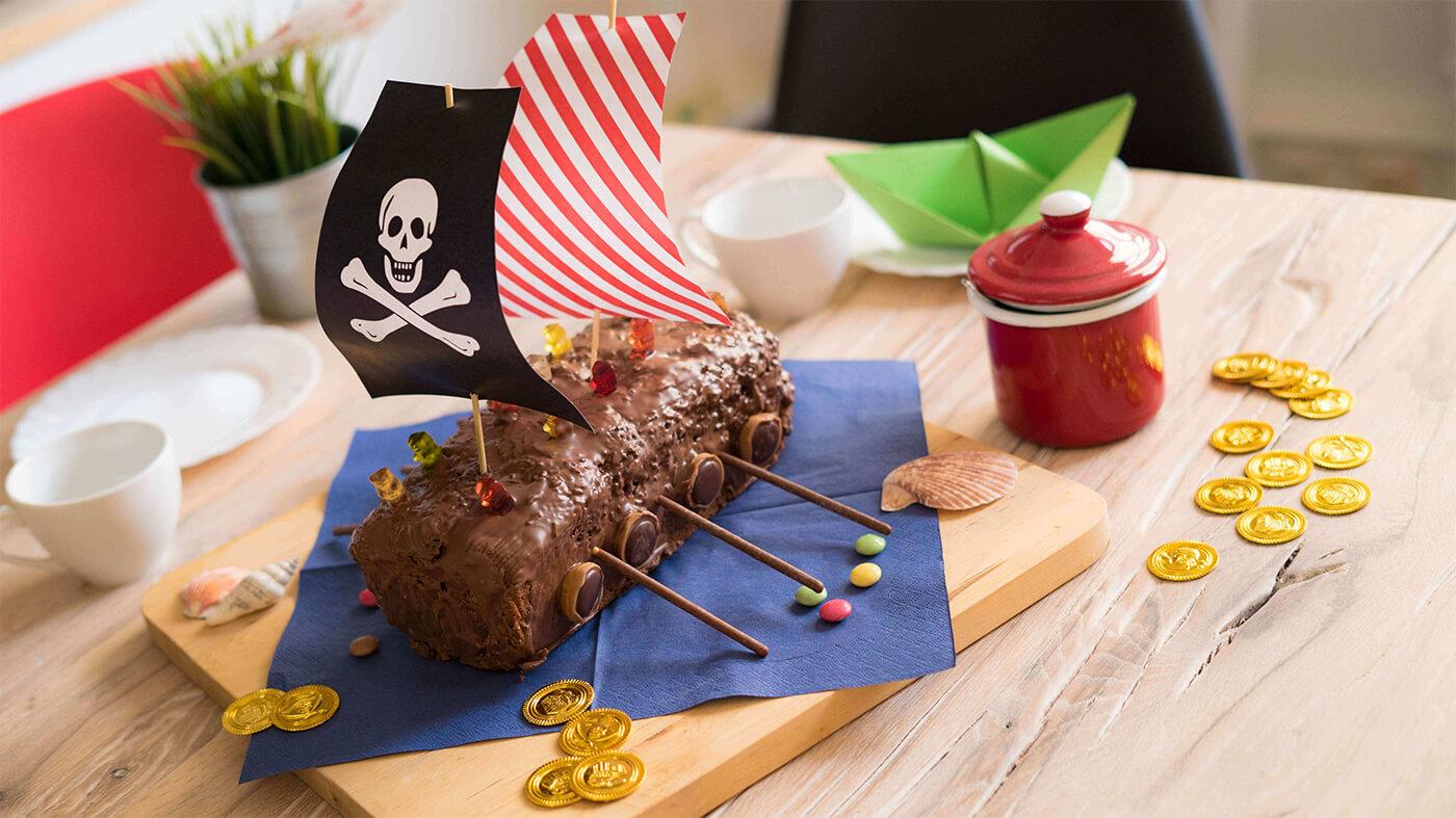 Piraten Kindergeburtstag Piratenkuchen Rezept