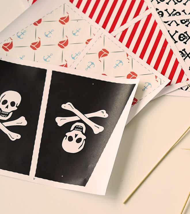 Piraten Segel Set Frecher Fratz
