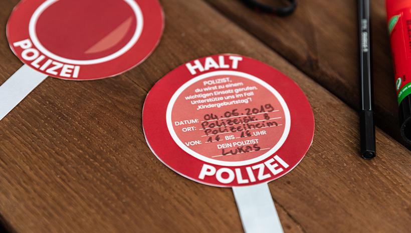Der Beste Polizei Geburtstag Für Kleine Kommissare Frecher Fratz