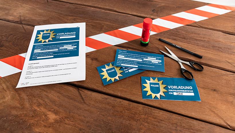 Polizei-Geburtstag-Einladung-Vorladung-Vorlage-Kinder-Kindergeburtstag-Basteln