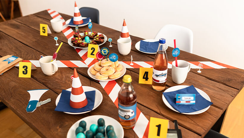 Polizei-Kindergeburtstag-Mottogeburtstag-Deko-Ideen