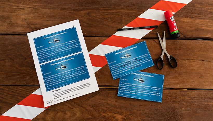 Polizei-Kindergeburtstag-Postkarte-Einladung-Vorlage
