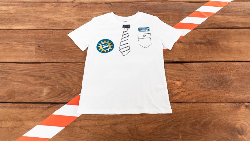 Polizei-Kindergeburtstag-Uniform-Ideen-Basteln