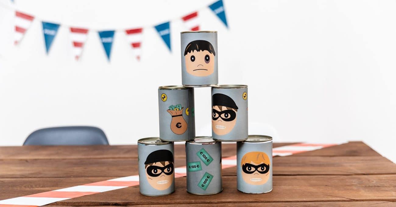Polizei-Spiele-Kindergeburtstag