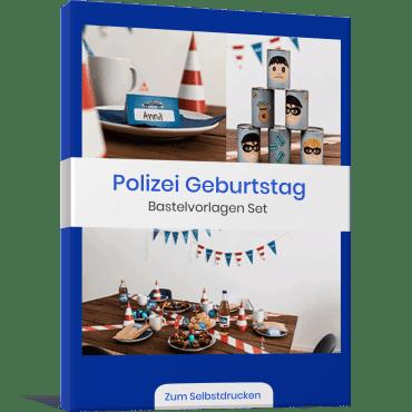 Polizei Vorlagen Bundle