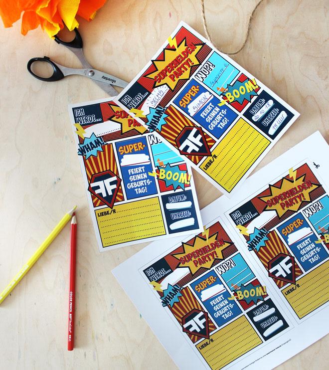 Produktbild-Superhelden-Einladung-Postkarte