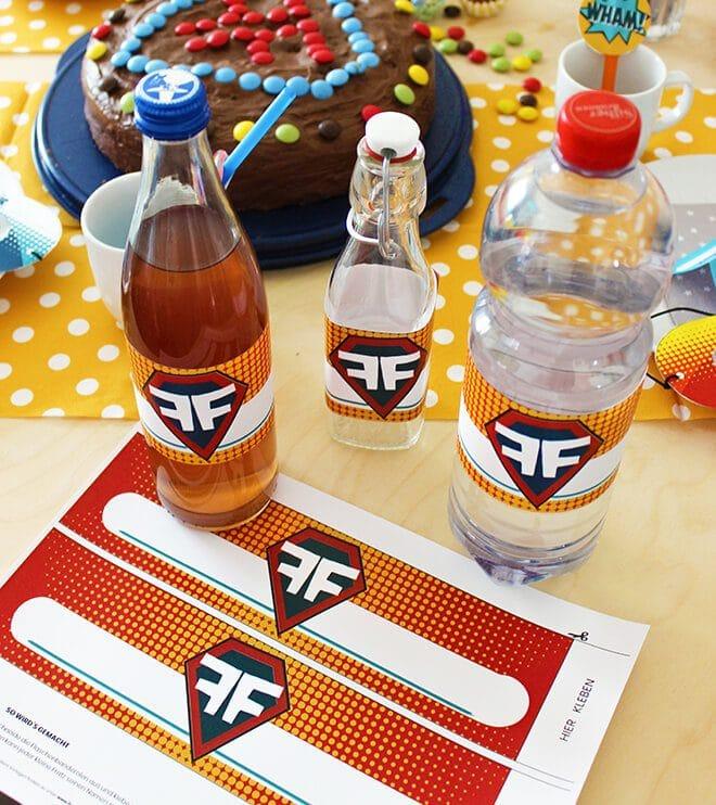 Produktbild-Superhelden-Kindergeburtstag-Flaschenbanderolen