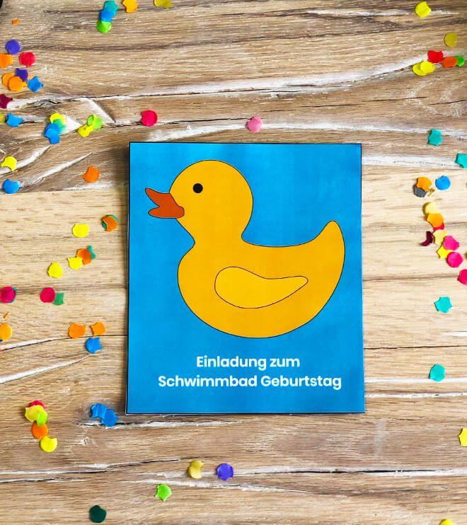 Schwimmbad-Geburtstag-Einladung-Ente-Vorlage