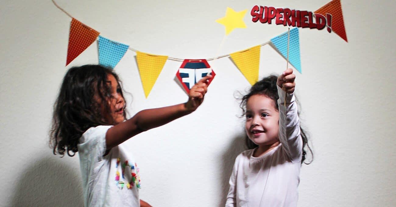 Superhelden-Kindergeburtstag