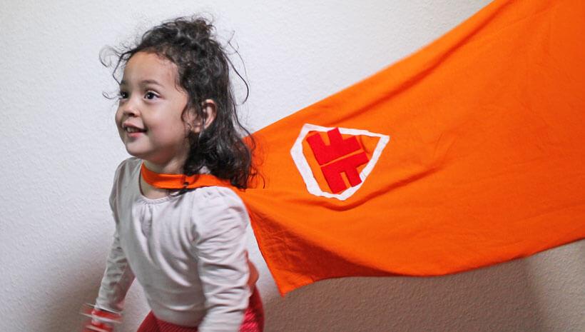 Superhelden-Kindergeburtstag-Cape