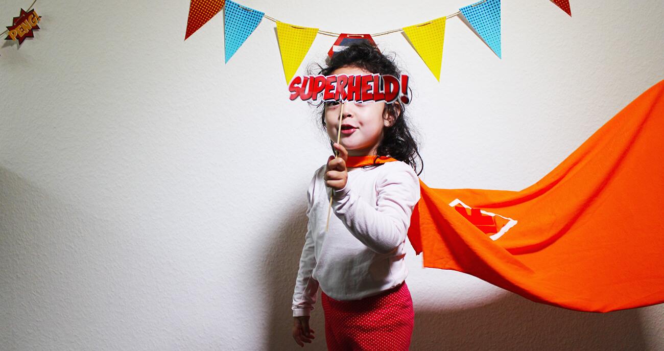 Superhelden-Kindergeburtstag-Spiele
