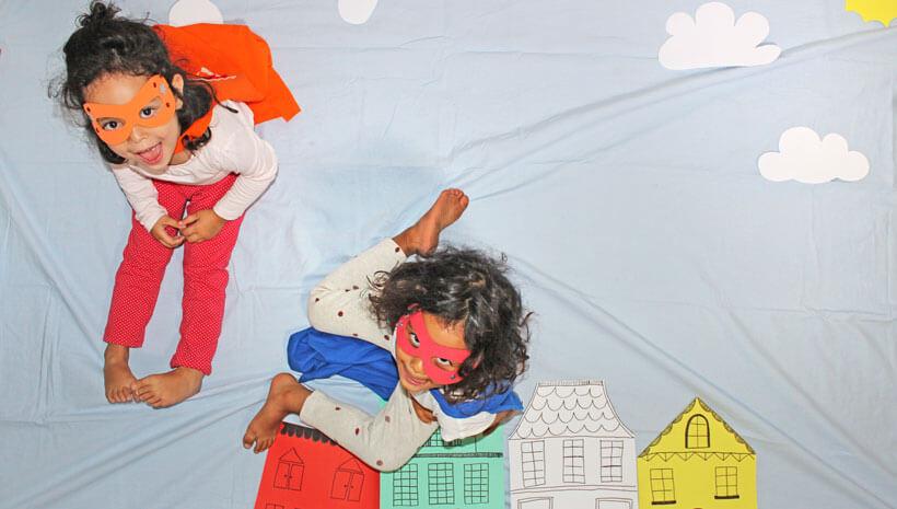 Superhelden-Kindergeburtstag-Superhelden-Fotos