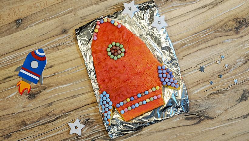 Weltraum Geburtstag Raketen Kuchen Rezept